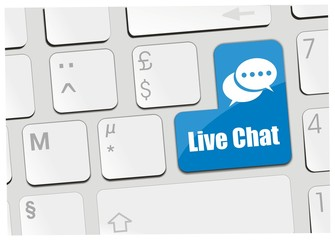 clavier live chat