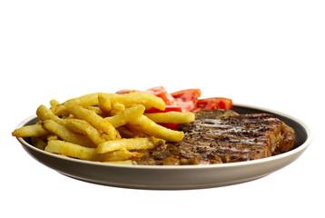 Steak dinner