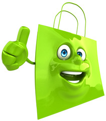 Fun shopping bag