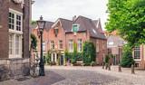 Beautiful street in Utrecht, Netherlands
