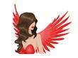 Постер, плакат: Красный ангел