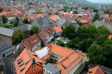 Goslar von oben