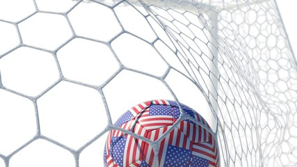 USA Ball Scores in Slow Motion