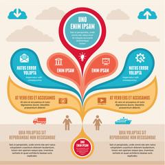 Infographic Concept - Vector Scheme
