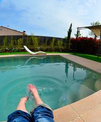 Kneipp Füße Wasser Pool