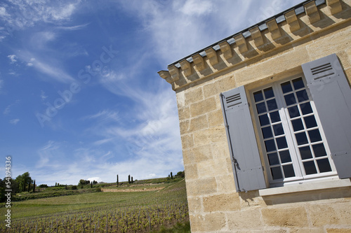 Maison, immobilier, Saint-Emilion, vigne, viticole, raisin
