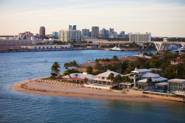 Fort Lauderdale Homes and Skyline