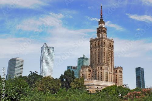 Warschau Panorama - 54894520