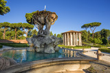 The Tritones Fountain and the Temple of Hercules - Rome