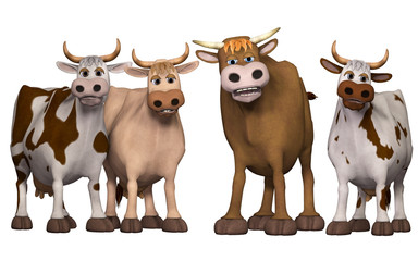 cows und bull
