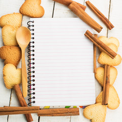 Note and cookies