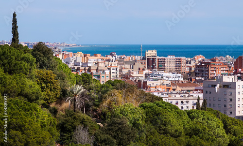 view of typical mediterranean city