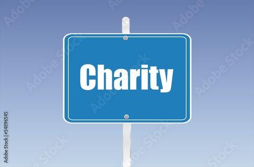 panneau charity