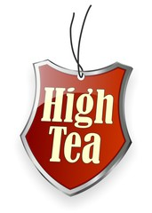 High Tea - Sign