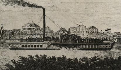 "Passenger steamship ""Königin Maria"" (Dresden, 1837)"
