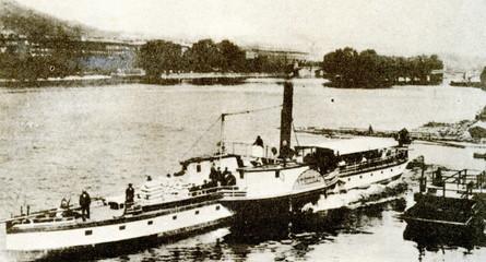 "PPS steamer ""Vyšehrad"" (1866-1953)"