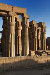 Saeulenhalle Temple von Luxor, Aegypten
