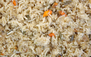 Stir Fried Rice up Close