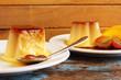 Caramel custard - pudding