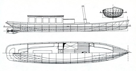 Design of PPS steamers Chucle, Branik, Podol, Zlichov, Zbraslav