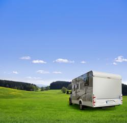 Camping mit Wohnmobil