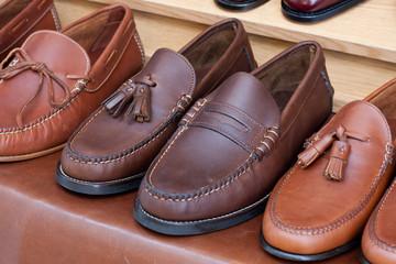 Zapatos de cuero de caballero