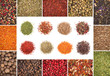A collection of different spices