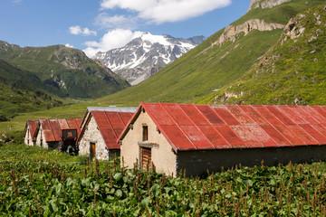 Alpage et bergerie en montagne - à Montaimont