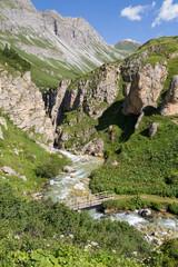 Gorge de la rivière de Chavière