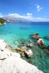 Croatia vacation - Marusici beach of Adriatic Sea