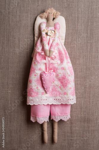 Textile handmade toys - Angel