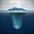 Leinwanddruck Bild - Iceberg