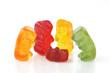 Gummy bear - four grandparents around a single spoilt grandchild
