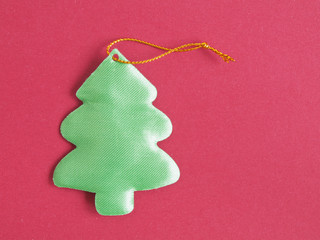 christmas ornament on a tree