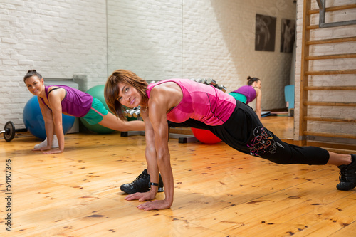 Attractive Woman stretching