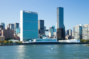 New York City, Uptown, United Nations Central Office
