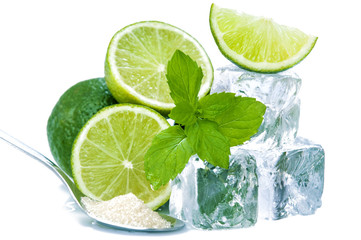 Lime on ice