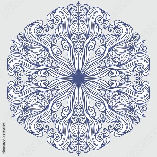 Design element round pattern
