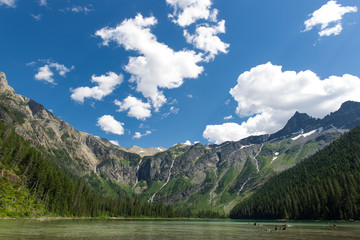 Avalanche Lake, Big Sky