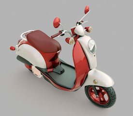 Classic scooter