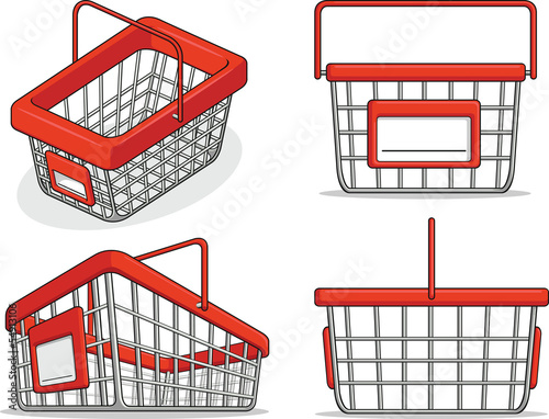 Shopping Basket from Several Positions