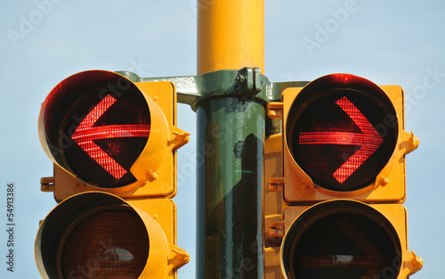 No way out of the traffic light