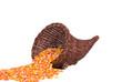 Cornucopia with Candy Corn
