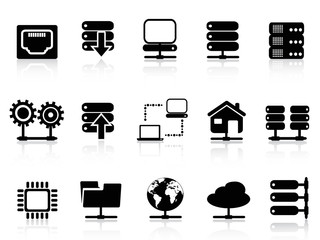 Server and database icon
