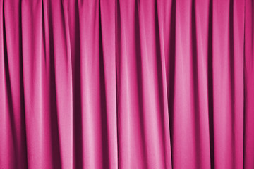 curtain cinema stage background, pink dramatic tone
