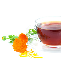 Tea with calendula