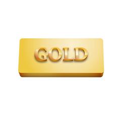 Vector logo gold