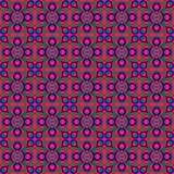 Red Ethnic Folk Pattern