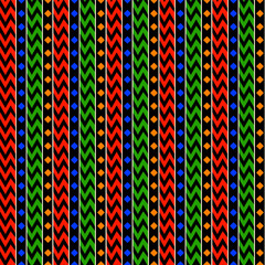African Stripes Pattern