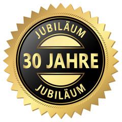 Jubiläum Button - 30 Jahre